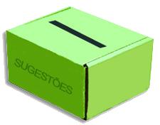 caixa sugestões